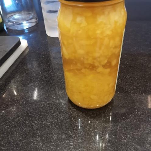 Mangoessig in Vorbereitung
