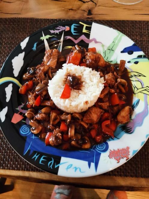 Hühnerfilet asiatisch