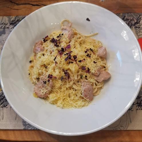 Spaghetti Alfredosauce
