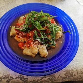 Gnocchi mit Tomatensauce 5