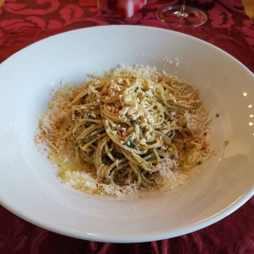 Spaghetti mit Fischsauce 1