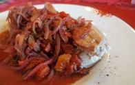 Thunfisch mit Rotweinzwiebel 5