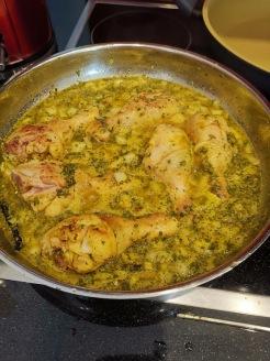 Marokkanisches Hühnchen 2