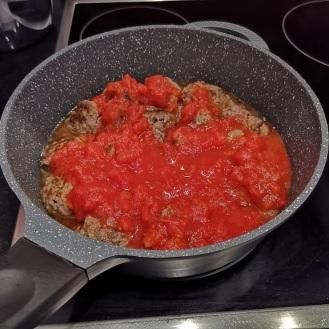 Fleischbällchen mit Mozzarella 2