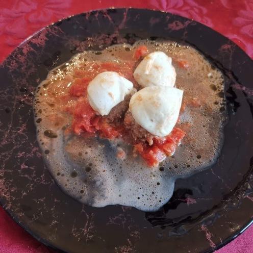 Fleischbällchen mit Mozzarella 4