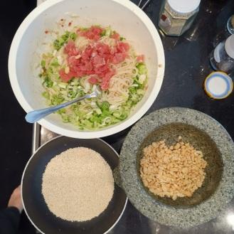 Asiatischen Reisnudelsalat 5
