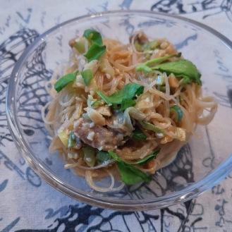 Asiatischen Reisnudelsalat 6