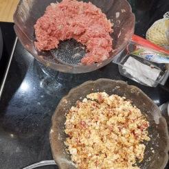 Pikant gefüllte Fleischlaibchen 2