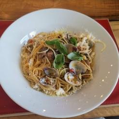 Spaghetti mit Vongole 3