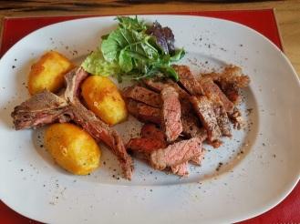 T-Bone Steak mit Bratkartoffeln 3