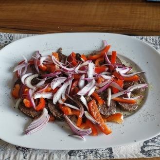 Blutwurst-Salat 2
