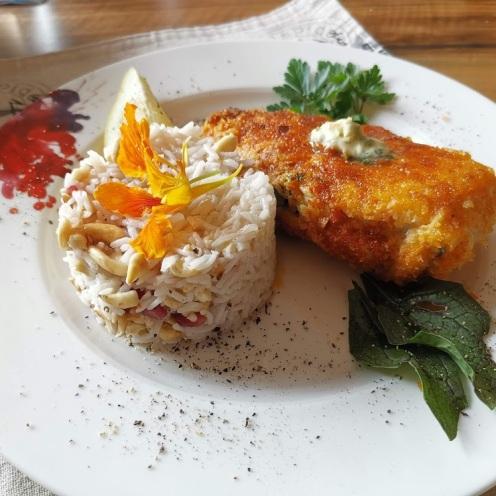 Huhn nach Kiewer Art 10