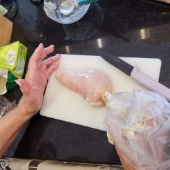 Huhn nach Kiewer Art 4