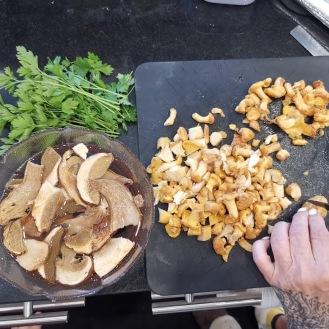 Kartoffelrolle mit Pilzen 1