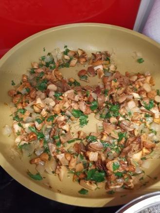 Kartoffelrolle mit Pilzen 2