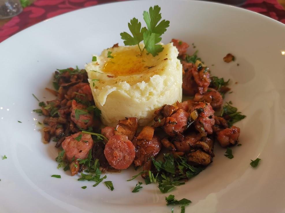 Salsiccia mit Eierschwammerl 4