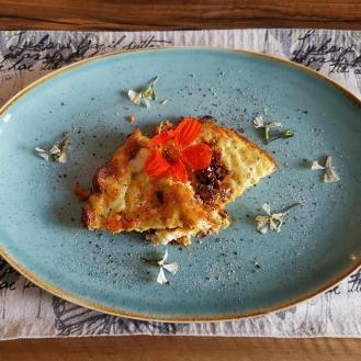 Frittata mit Zucchini und Chorizo 5
