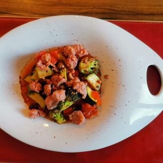 Salsiccia Pfanne mit Gemüse 5