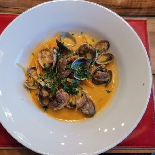 Venusmuscheln in Currysauce 5