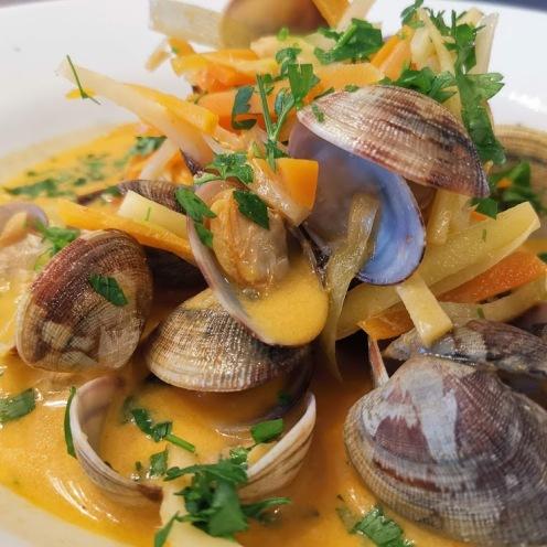 Venusmuscheln in Currysauce 6