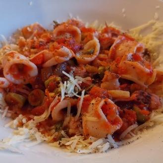 Calamari in Tomatensauce 6
