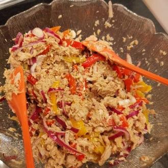 Thunfischsalat mit Harissa-Creme 1