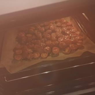 Gemüseplätzchen mit getrockneten Tomaten 4