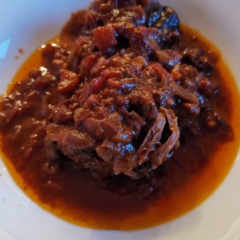 Ochsenschwanz in Rotweinsauce 1