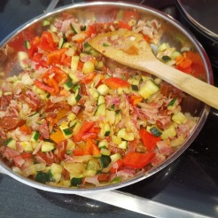 Frittata mit Zucchini 8