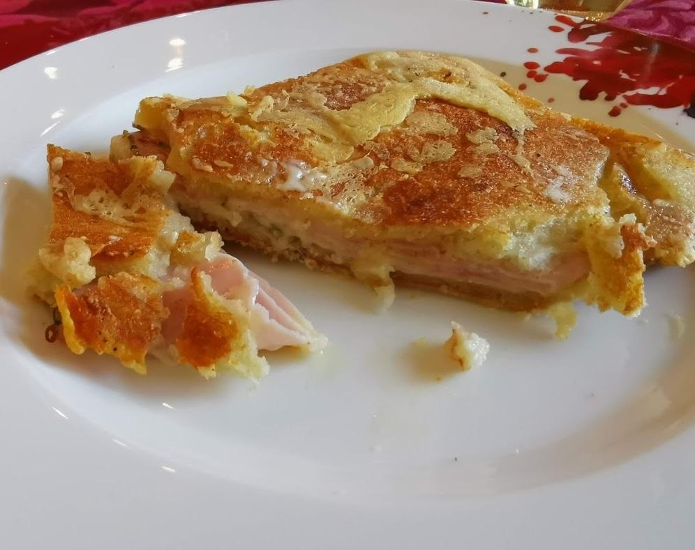 Der ultimative Käse Schinken Toast 1
