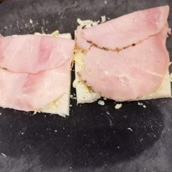 Der ultimative Käse Schinken Toast 6